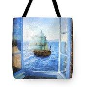 White Sails Tote Bag