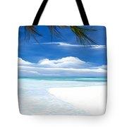 White Sand And Turquoise Sea Tote Bag