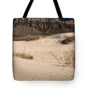 White Sand Below Tote Bag