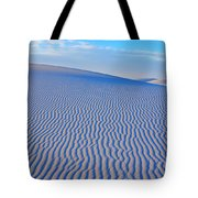 White Sand Patterns New Mexico Tote Bag by Bob Christopher