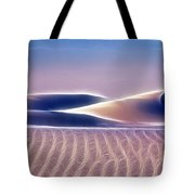 White Sands Abstract Tote Bag