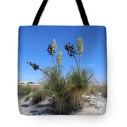 White Sands Dune With Soap Yucca Tote Bag