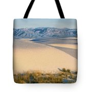 White Sands Morning #1 - New Mexico Tote Bag