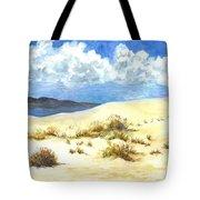 White Sands New Mexico U S A Tote Bag