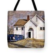 White School 1929 - Lawrence Kansas Tote Bag