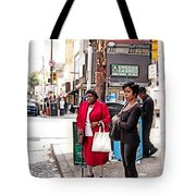 White Shopping Bag Tote Bag