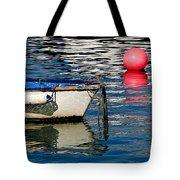 White Skiff - Lyme Regis Harbour Tote Bag