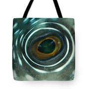 White-spotted Pufferfish Eye Tote Bag