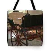 White Spring Carriage Tote Bag