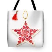 White Star Tote Bag
