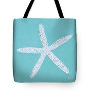 White Starfish Tote Bag
