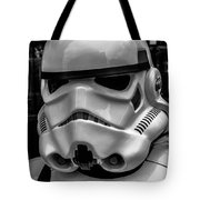 White Stormtrooper Tote Bag