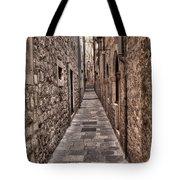 White Streets Of Dubrovnik No3 Tote Bag