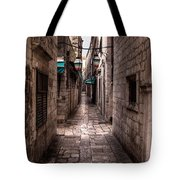 White Streets Of Dubrovnik No5 Tote Bag