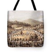 White Sulphur Springs, Montgomery County, Va Tote Bag