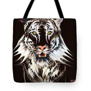 White Tiger 1 Tote Bag
