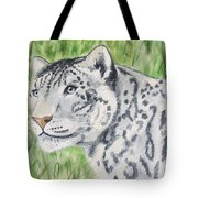 White Tiger Too Tote Bag