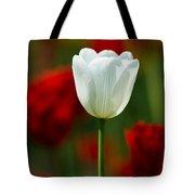 White Tulip - Featured 3 Tote Bag