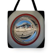White Walls On A 49' Buick Tote Bag