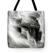 White Water Falls Tote Bag