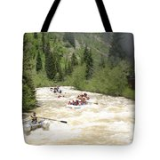 Animas River White Water Rafting The  Tote Bag