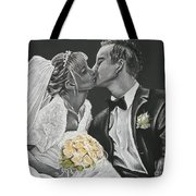 White Wedding Tote Bag
