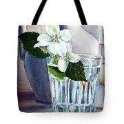White White Jasmine  Tote Bag