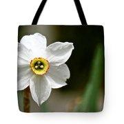 White Wind Bravery Tote Bag