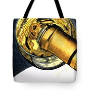 White Wine Art - Lap Of Luxury - By Sharon Cummings Tote Bag