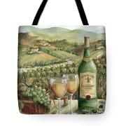 White Wine Lovers Tote Bag by Marilyn Dunlap