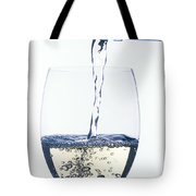 White Wine Pouring Tote Bag by Garry Gay