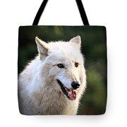 White Wolf Pant Tote Bag