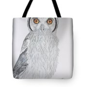 Whitefaced Owl Tote Bag