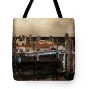 Whitefish Point Harbor Michigan Tote Bag