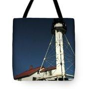 Whitefish Point Light Station Tote Bag