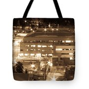 Whitehorse Downtown At Night Tote Bag