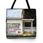White's Furniture Tote Bag by Mary Machare