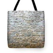 Whitewash Old Stone Wall Tote Bag
