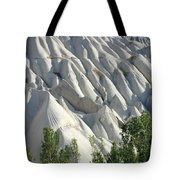 Whitewashed Rock From A Hot Air Balloon Tote Bag