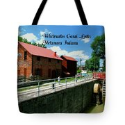 Whitewater Canal Locks Tote Bag