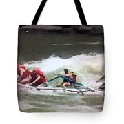 Whitewater Rafting Tote Bag
