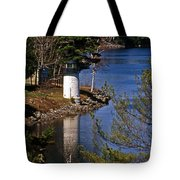 Whitlocks Mill Lighthouse Tote Bag
