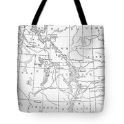 Whitman's Route Tote Bag