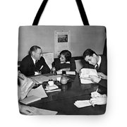 Whitney & Co. Investigation Tote Bag