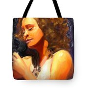 Whitney Gone Too Soon Tote Bag