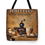 Whittard Of Chelsea Tea Coffee And Drawings Tote Bag