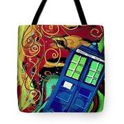 Spiral Through Time Tote Bag