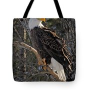 Who Ruffled The Feathers Tote Bag