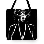 Who S That Girl Tote Bag