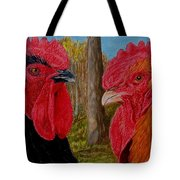 Who You Calling Chicken Tote Bag